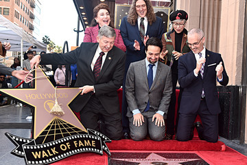 Leron Gubler Lin-Manuel Miranda Is Honored With A Star On The Hollywood Walk Of Fame