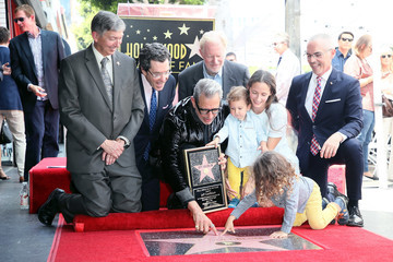 Leron Gubler Jeff Goldblum Is Honored With A Star On The Hollywood Walk Of Fame