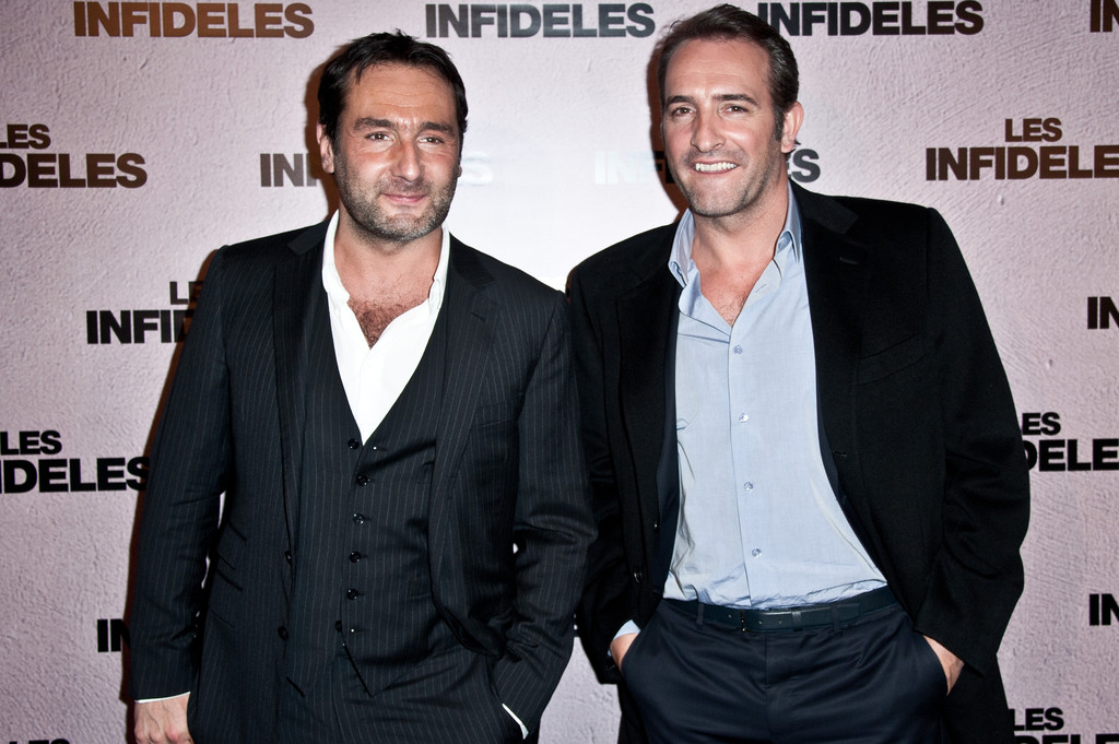 Gilles lellouche and jean dujardin photos photos 39 les for Jean dujardin infidele