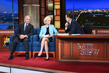 """Lesley Stahl CBS's """"The Late Show with Stephen Colbert"""" - Season Two"""