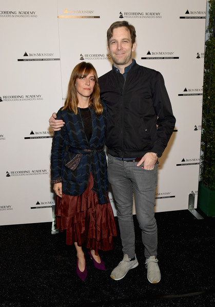 61st Annual GRAMMY Awards - Producers & Engineers Wing 12th Annual GRAMMY Week Event Honoring Willie Nelson [fashion,event,carpet,fashion design,textile,flooring,premiere,willie nelson,robbie lackritz,feist,grammy,los angeles,california,the producers engineers wing,village studios,grammy awards - producers engineers wing 12th annual grammy week event,event]
