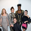 Leslie Jones Christian Siriano Fall Winter 2020 NYFW - Front Row