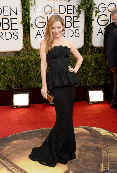 Leslie Mann - 71st Annual Golden Globe Awards - Arrivals