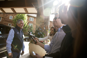 Leslie Moonves Annual Allan And Co. Investors Meeting Draws CEO's And Business Leaders To Sun Valley, Idaho