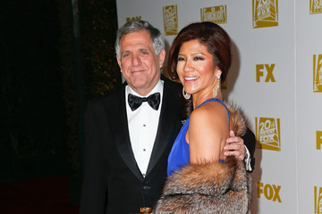 Leslie Moonves Fox Searchlight 2013 Golden Globe Awards Party - Arrivals