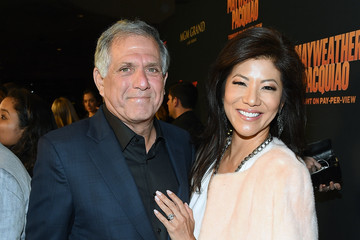 Leslie Moonves SHOWTIME and HBO VIP Pre-Fight Party For 'Mayweather VS Pacquiao'