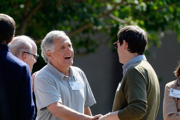 Leslie Moonves Business Leaders Meet in Sun Valley for Conference