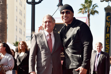 Leslie Moonves LL Cool J Honored With Star on the Hollywood Walk of Fame
