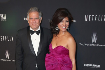Leslie Moonves Stars at the Weinstein Company/Netflix's Golden Globes Afterparty