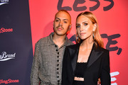 (L-R) Evan Ross and Ashlee Simpson attend Less Noise, More Music! Lucky Brand presents Third Eye Blind + Special Guest on January 23, 2020 in Los Angeles, California.
