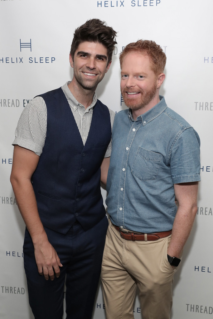jesse tyler ferguson and justin mikita photos photos zimbio. Black Bedroom Furniture Sets. Home Design Ideas