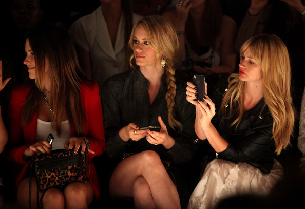TRESemme at Rebecca Minkoff - Front Row - Spring 2012 Mercedes-Benz Fashion Week