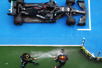 Lewis Hamilton Max Verstappen European Best Pictures Of The Day - July 19