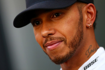 Lewis Hamilton F1 Testing In Barcelona - Day One