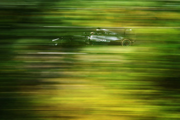 Lewis Hamilton F1 Grand Prix of Hungary - Qualifying