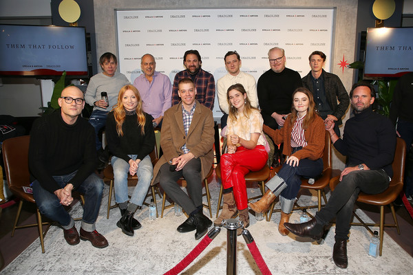 Stella Artois And Deadline Sundance Series At Stella's Film Lounge: A Live Q&A With The Directors, Producers And Cast Of 'Them That Follow'