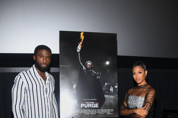 """Lex Scott Davis """"The First Purge"""" Stars, Y'lan Noel And Lex Scott Davis, Attend Private Screening And Q&A Hosted By Global Grind's Xilla"""