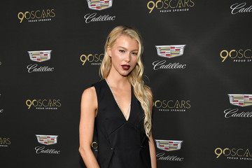 Lexi Atkins Cadillac Celebrates The 90th Annual Academy Awards - Arrivals
