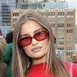 Lexi Wood Dur Doux - Front Row & Backstage - September 2021 - New York Fashion Week: The Shows