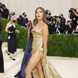 Leyna Bloom The 2021 Met Gala Celebrating In America: A Lexicon Of Fashion - Arrivals