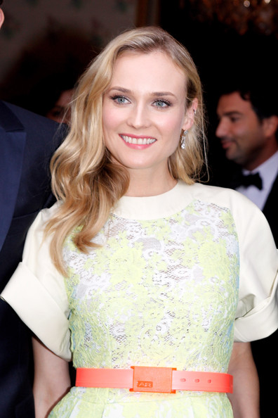 Diane Kruger attends the 'Liaisons Au Louvre II' Charity Gala Dinner at Musee du Louvre on June 14, 2011 in Paris, France.