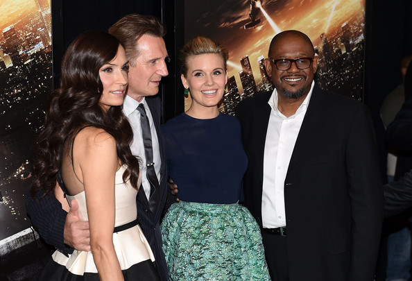 Maggie Grace and liam neeson