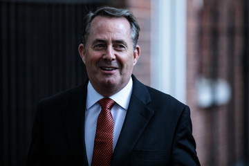 Liam Fox Government Ministers Attend Cabinet After Conference Season Recess