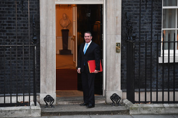 Liam Fox Government Ministers Attend First Cabinet Meeting Of 2018