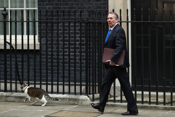 Liam Fox Cabinet Meet Ahead Of The Prime Minister Triggering Article 50