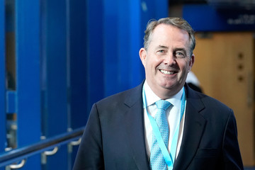 Liam Fox Conservative Party Conference - Day Two