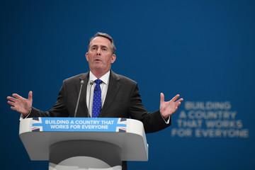 Liam Fox Conservative Party Conference 2017- Day Three