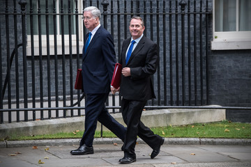 Liam Fox British Government Minister's Attend Weekly Cabinet Meeting