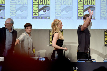 Liam Hemsworth Comic-Con International 2015 - 'The Hunger Games: Mockingjay Part 2' Panel