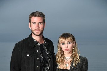 Liam Hemsworth Saint Laurent Mens Spring Summer 20 Show - Photo Call