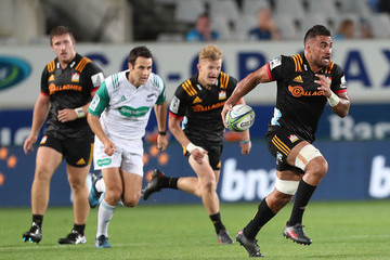 Liam Messam Super Rugby Rd 2 - Blues v Chiefs