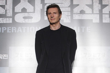 Liam Neeson 'Operation Chromite' Press Conference in Seoul