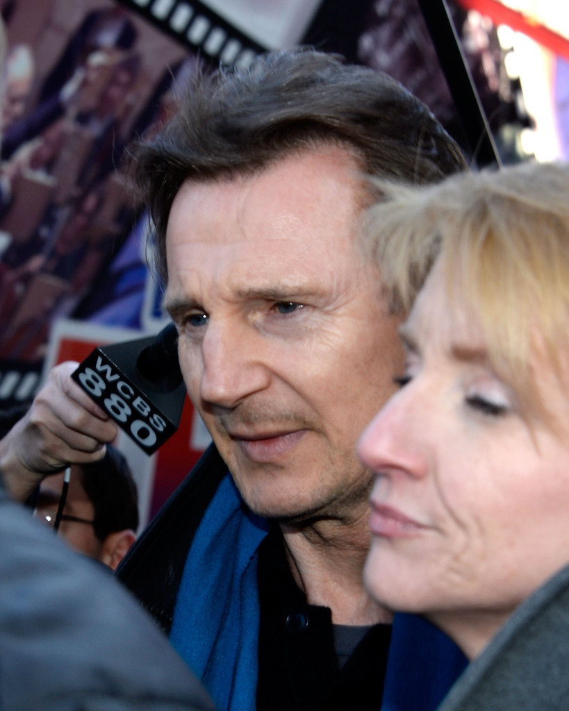 Liam Neeson And Girlfr...