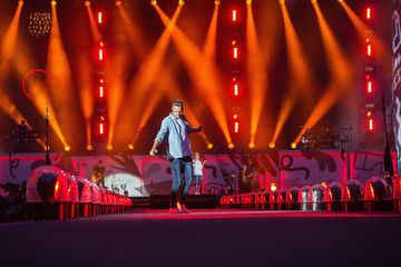 Liam Payne One Direction Performs at CenturyLink Field
