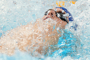 Liam Tancock Swimming - 16th FINA World Championships: Day Fifteen
