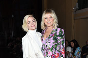 Jaime King and Malin Akerman attend the Libertine Fall 2019 Runway Show at Ebell of Los Angeles on April 26, 2019 in Los Angeles, California.