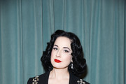 Dita Von Teese attends the Libertine Fall 2019 Runway Show at Ebell of Los Angeles on April 26, 2019 in Los Angeles, California.