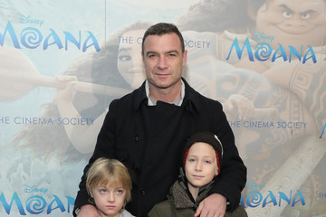 Liev Schreiber Disney and The Cinema Society Host a Special Screening of 'Moana'