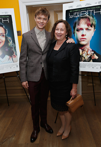 Photo of Dane DeHaan & his  Mother  Cynthia Boscia