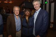 """Michael Mann, Chaz Ebert and Steve James attend the after-party of Magnolia Pictures' """"Life Itself"""" at Warwick on June 26, 2014 in Hollywood, California."""
