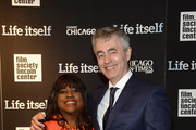 Chaz Ebert (L) and producer Steve James attend the 'Life Itself' New York premiere at the Film Society of Lincoln Center on June 23, 2014 in New York City.