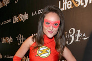 """Singer Lauren Mayhew attends Life & Style Weekly's """"Eye Candy"""" Halloween Bash hosted by LeAnn Rimes at Riviera 31 at Sofitel on October 29, 2015 in Los Angeles, California."""