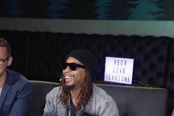 Lil Jon Chris Evans, Lauren Cohan, and Lil Jon Host a Celebrity Gaming Event and Xbox Live Session in Atlanta