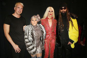 Lil Kim The Blonds - Backstage - February 2018 - New York Fashion Week: The Shows