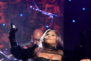 """Lil Kim Pre-GRAMMY Gala and GRAMMY Salute to Industry Icons Honoring Sean """"Diddy"""" Combs - Inside"""