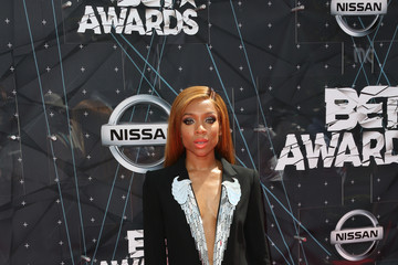 Lil Mama Celebs Arrive at the 2015 BET Awards